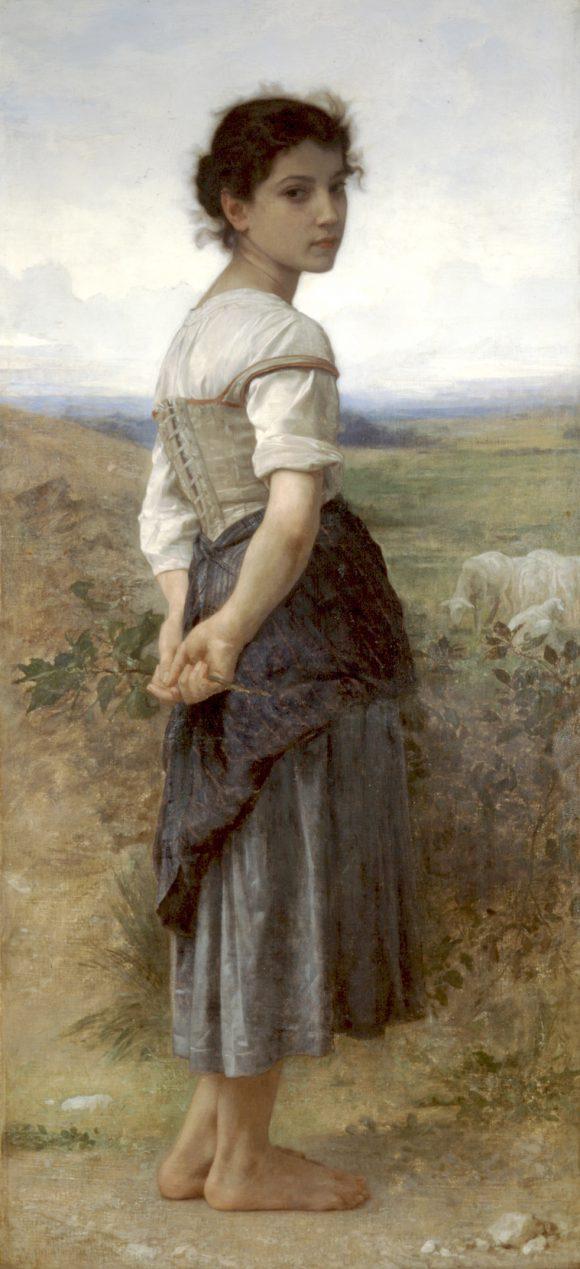 Jeune Bergere (Young Shepherdess)
