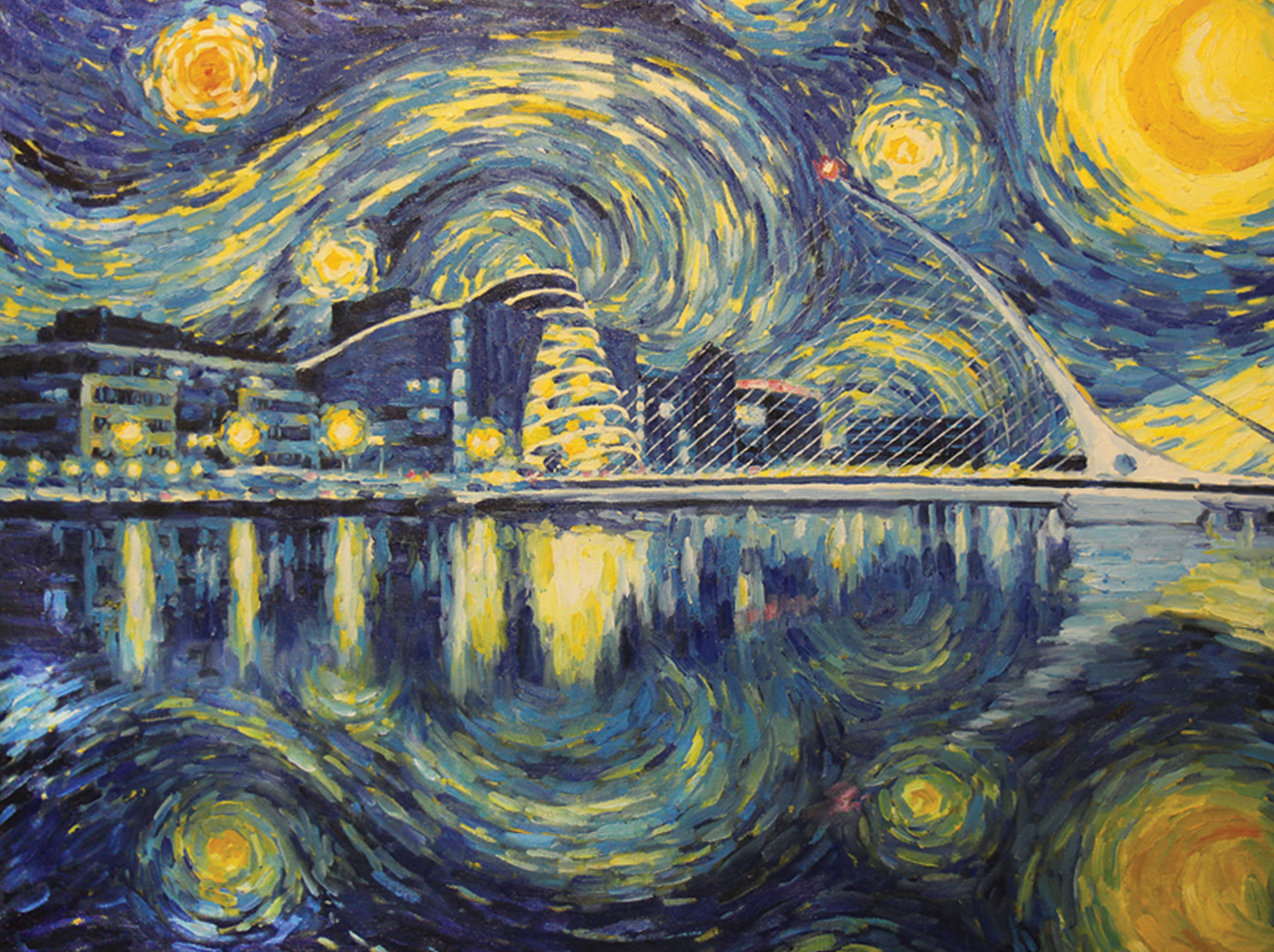 "art criticism of starry night paper Against self-criticism: author of the art of mental calculation, explores how ""the starry night"" sheds light on the concept of turbulent flow in fluid."