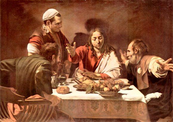 Christ in Emmaus by Caravaggio