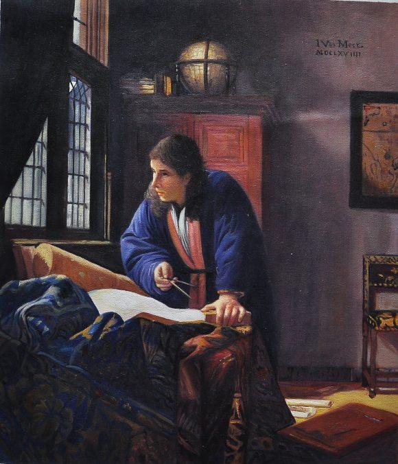 El Geograf by Vermeer