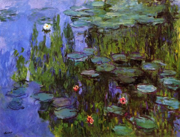 Gardens by Monet