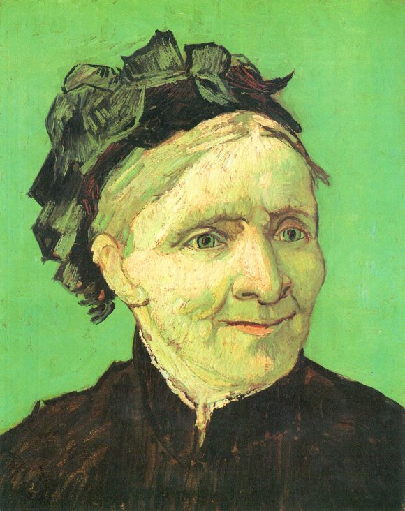 Portrait of the mother of the artist by Van Gogh