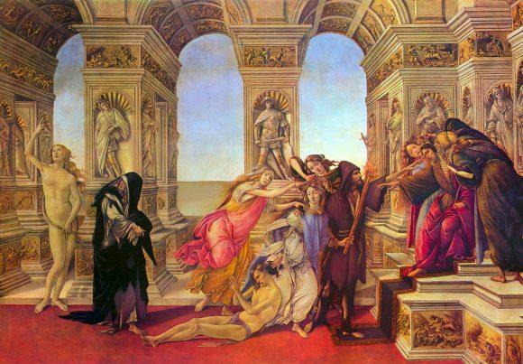 Slander by Botticelli