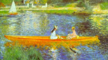 The Seine by Renoir