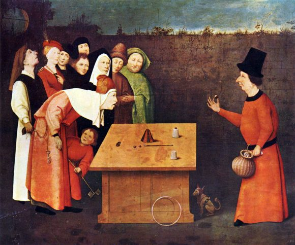 The magician by Bosch