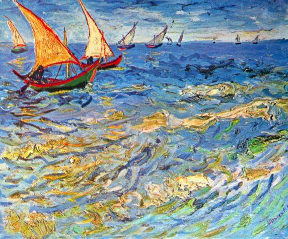 The sea at Saintes-Maries by Van Gogh.jpg