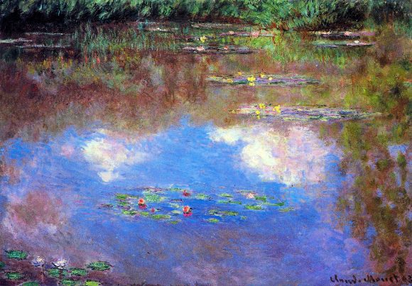 Water Lily Pond #4 by Monet