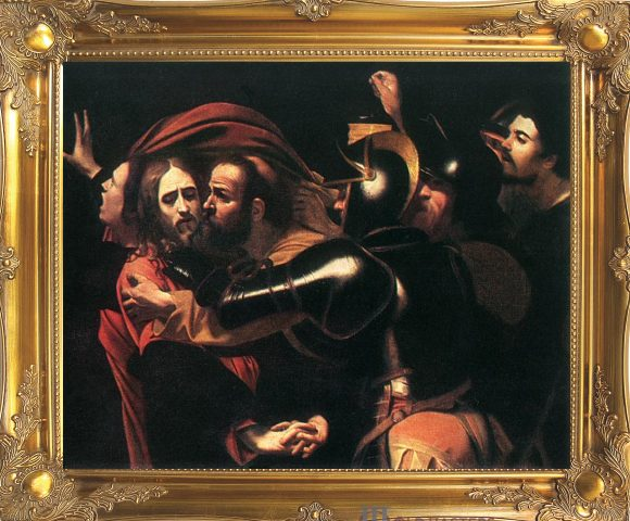 the taking of christ with frame2
